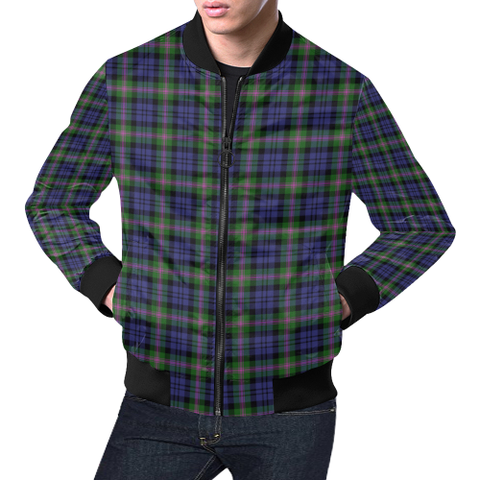 Baird Modern Tartan Bomber Jacket | Scottish Jacket | Scotland Clothing