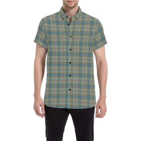 Tartan Shirt - Balfour Blue | Exclusive Over 500 Tartans | Special Custom Design