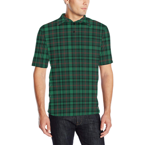 Ross Hunting Modern Tartan Polo Shirt