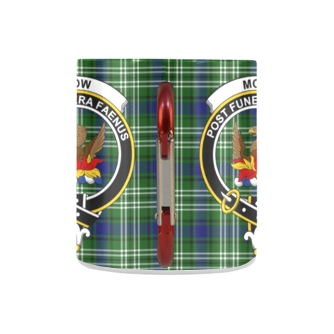 Mow Tartan Mug Classic Insulated - Clan Badge K7