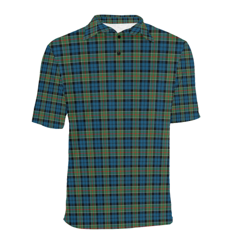 Colquhoun Ancient  Tartan Polo Shirt HJ4