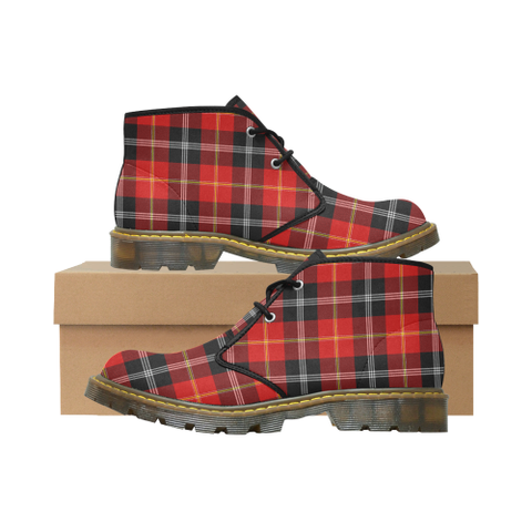 Marjoribanks Tartan Chukka Boot | Over 500 Tartans | Special Custom Design | Love Scotland