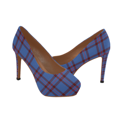 Elliot Modern Plaid Heels