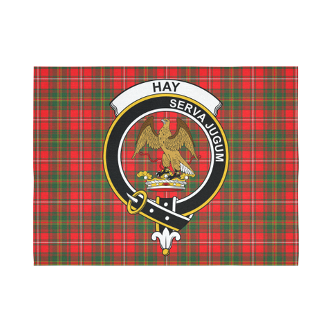 Image of Hay Modern Tartan Tapestry Clan Badge K7