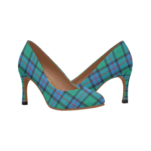 Flower Of Scotland Plaid Heels