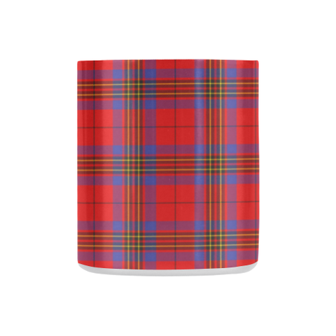 Image of Leslie Modern Tartan Mug Classic Insulated - Clan Badge K7