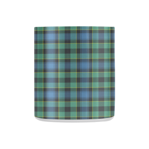 Image of Mowat  Tartan Mug Classic Insulated - Clan Badge K7