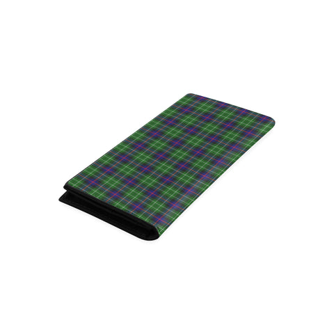 Leslie Hunting Tartan Wallet Women's Leather Thistle A91