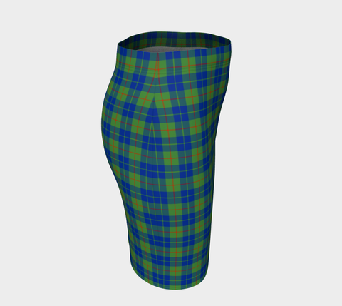 Tartan Fitted Skirt - Barclay Hunting Ancient | Special Custom Design