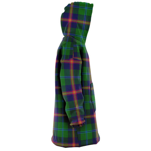 Image of Young Modern Snug Hoodie - Unisex Tartan Plaid Right