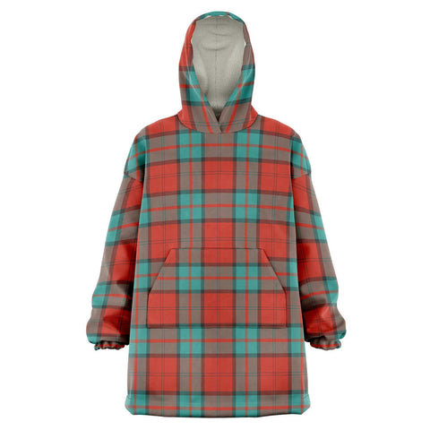 Image of Dunbar Ancient Snug Hoodie - Unisex Tartan Plaid Front