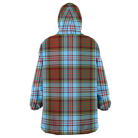 Image of Anderson Ancient Snug Hoodie - Unisex Tartan Plaid Back