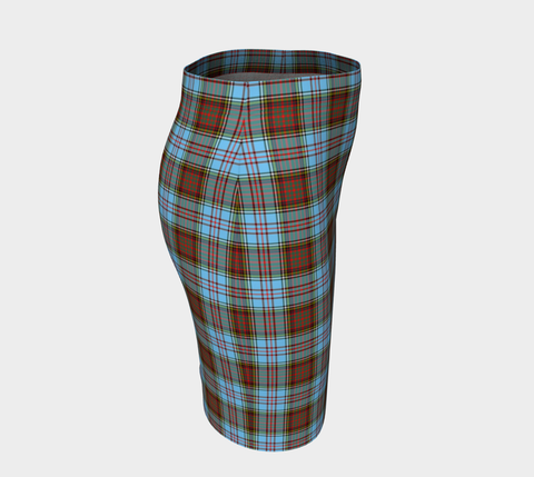 Tartan Fitted Skirt - Anderson Ancient | Special Custom Design