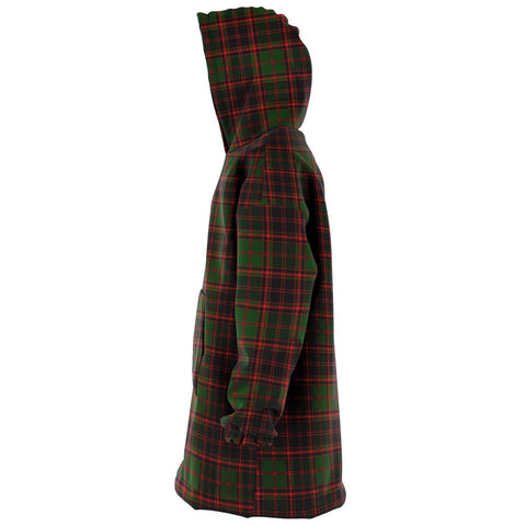 Image of Buchan Modern Snug Hoodie - Unisex Tartan Plaid Left