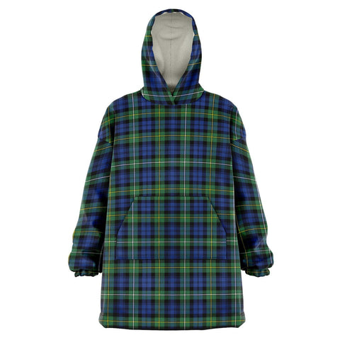 Image of Campbell Argyll Ancient Snug Hoodie - Unisex Tartan Plaid Front