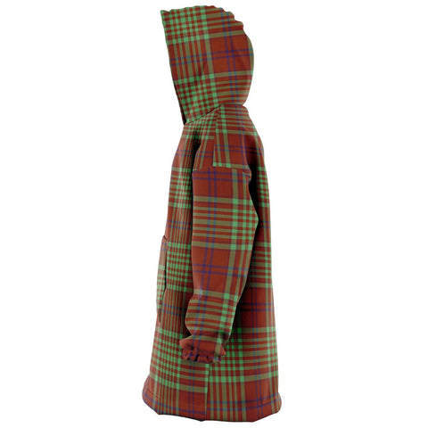 MacGillivray Hunting Ancient Snug Hoodie - Unisex Tartan Plaid Left