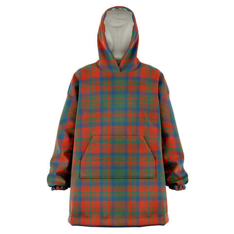 Matheson Ancient Snug Hoodie - Unisex Tartan Plaid Front