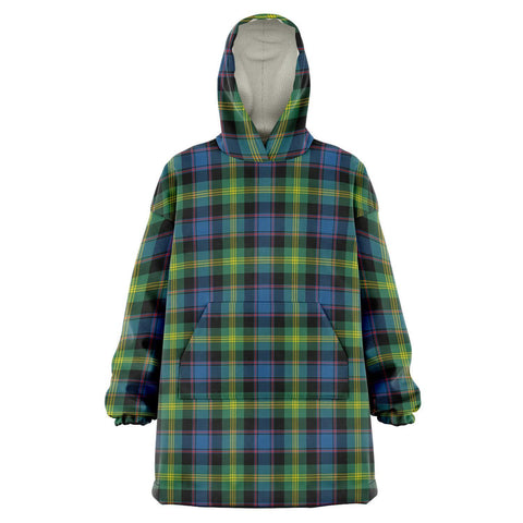 Image of Watson Ancient Snug Hoodie - Unisex Tartan Plaid Front
