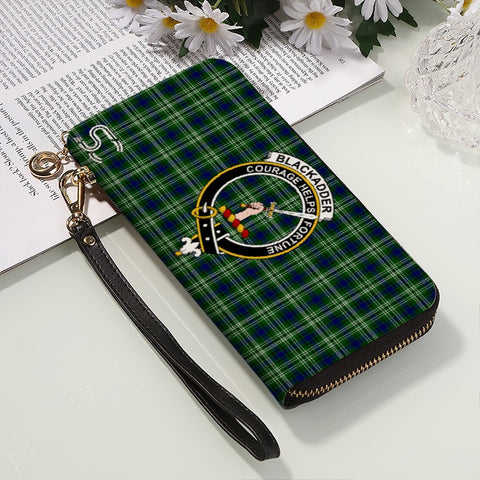 Blackadder Crest Tartan Zipper Wallet™