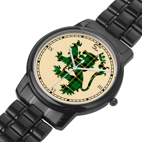 Image of Wallace Hunting - Green Tartan Watch Lion Scottish Vesion K7