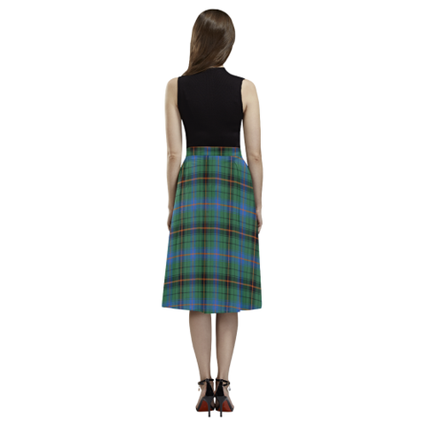 Davidson Ancient Tartan Aoede Crepe Skirt | Exclusive Over 500 Tartan