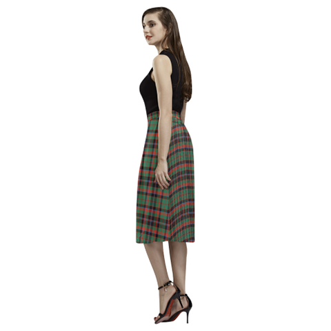 Cumming Hunting Ancient Tartan Aoede Crepe Skirt | Exclusive Over 500 Tartan
