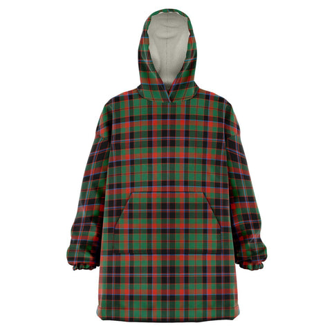 Cumming Hunting Ancient Snug Hoodie - Unisex Tartan Plaid Front