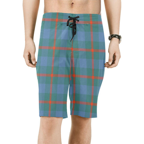 Agnew Ancient Tartan Board Shorts | scottishclans.co