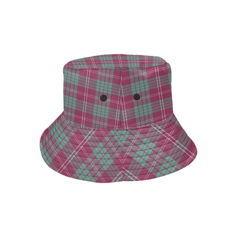 Crawford Ancient Tartan Bucket Hat for Women and Men K7
