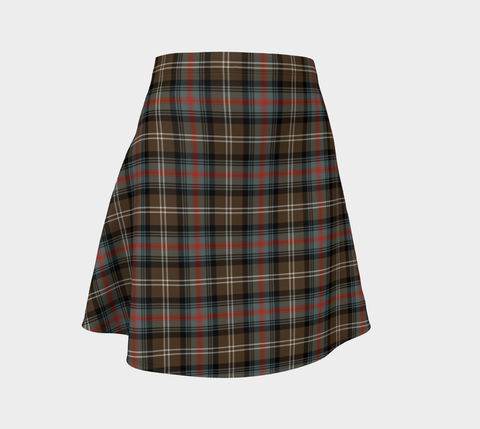 Tartan Flared Skirt - Sutherland Weathered |Over 500 Tartans | Special Custom Design | Love Scotland