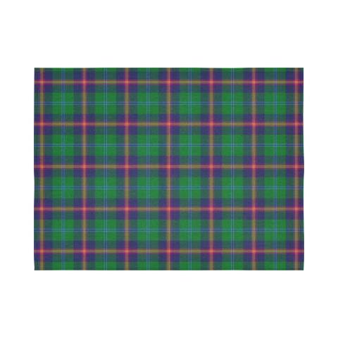 Young Modern Tartan Tapestry