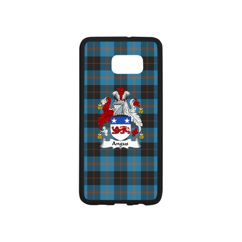 Angus Tartan Clan Badge Rubber Phone Case TH8