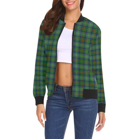 Cranstoun Tartan Bomber Jacket | Scottish Jacket | Scotland Clothing
