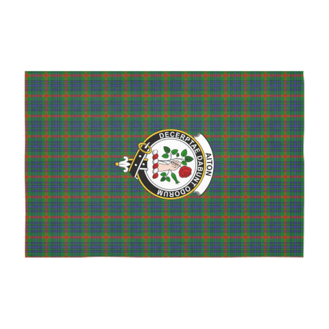 Aiton Crest Tartan Tablecloth | Home Decor
