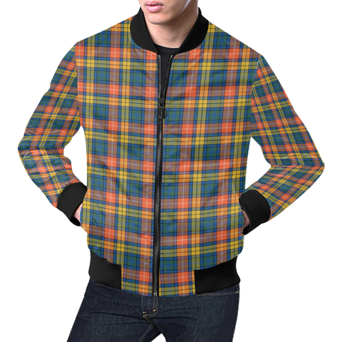 Buchanan Ancient Tartan Bomber Jacket | Scottish Jacket | Scotland Clothing