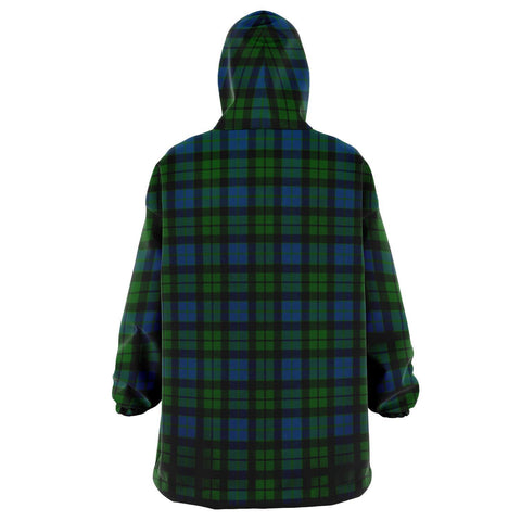 Image of MacKay Modern Snug Hoodie - Unisex Tartan Plaid Back