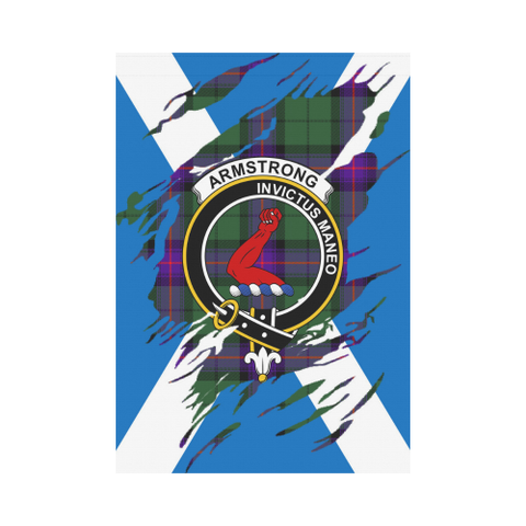 Armstrong Lives In Me Tartan Flag | Scottishclans.co