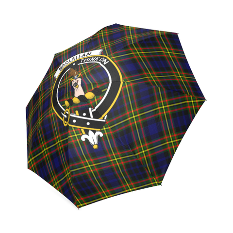 Image of Maclellan Modern Crest Tartan Umbrella TH8