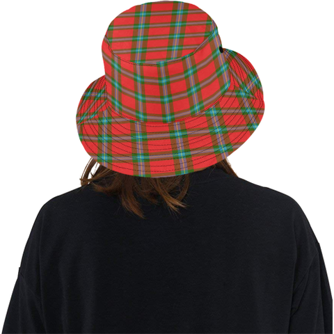 Image of Maclaine Of Loch Buie Tartan Bucket Hat for Women and Men