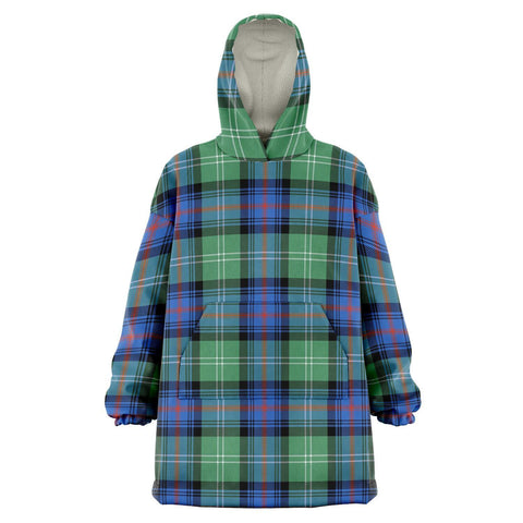 Sutherland Old Ancient Snug Hoodie - Unisex Tartan Plaid Front