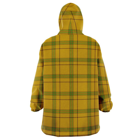 Houston Snug Hoodie - Unisex Tartan Plaid Back