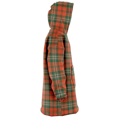 SCOTT ANCIENT Snug Hoodie - Unisex Tartan Plaid Right