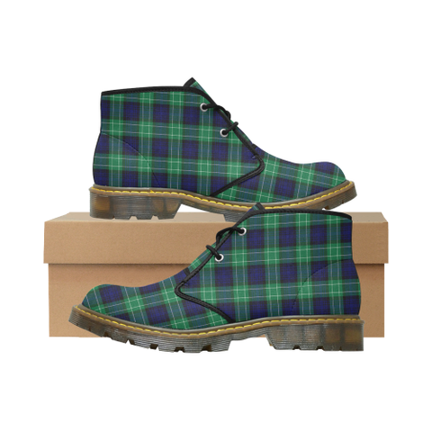 Abercrombie Tartan Chukka Boot | Over 500 Tartans | Special Custom Design | Love Scotland