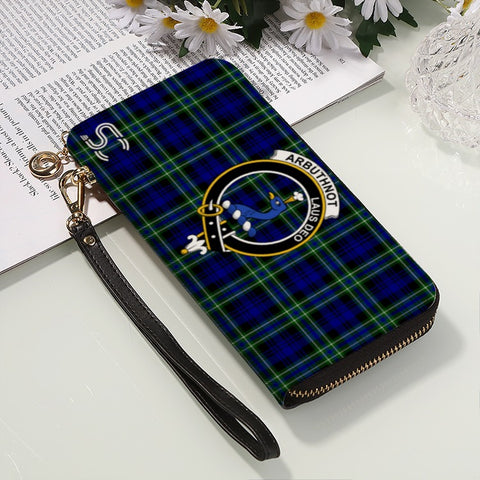 Image of Arbuthnot Crest Tartan Zipper Wallet™