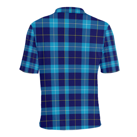 Image of Mckerrell Tartan Clan Badge Polo Shirt HJ4