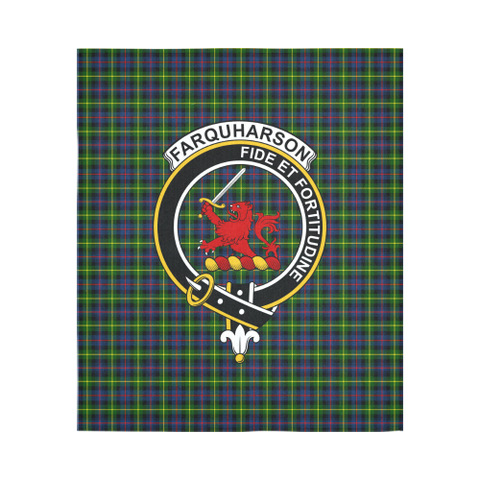 Farquharson Modern Tartan Tapestry Clan Badge | Scottish Clans