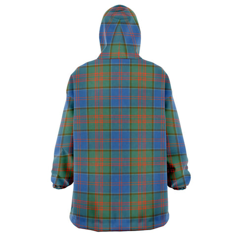 Image of Stewart of Appin Hunting Ancient Snug Hoodie - Unisex Tartan Plaid Back