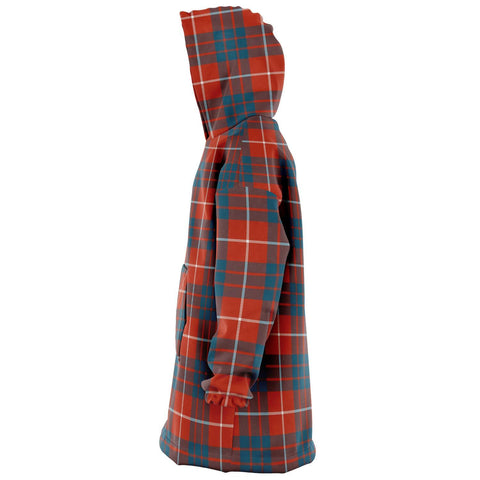 Hamilton Ancient Snug Hoodie - Unisex Tartan Plaid Left