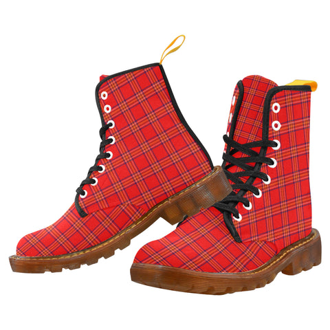 Burnett Modern Martin Boot | Scotland Boots | Over 500 Tartans