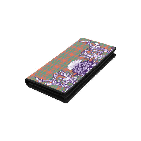 MacKintosh Ancient Tartan Wallet Women's Leather Wallet A91 | Over 500 Tartan